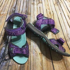 Merrell Purple Surf Strap Sandal 2.0 Girls Size 2